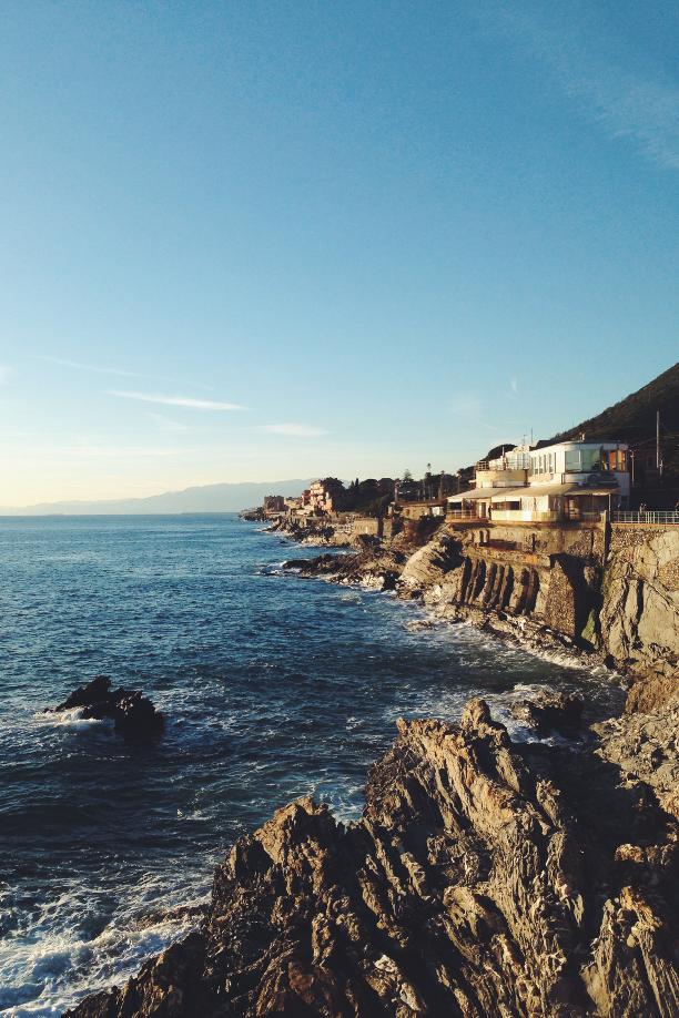 Genova, Nervi, mare, Italia, Italy, Passeggiata mare