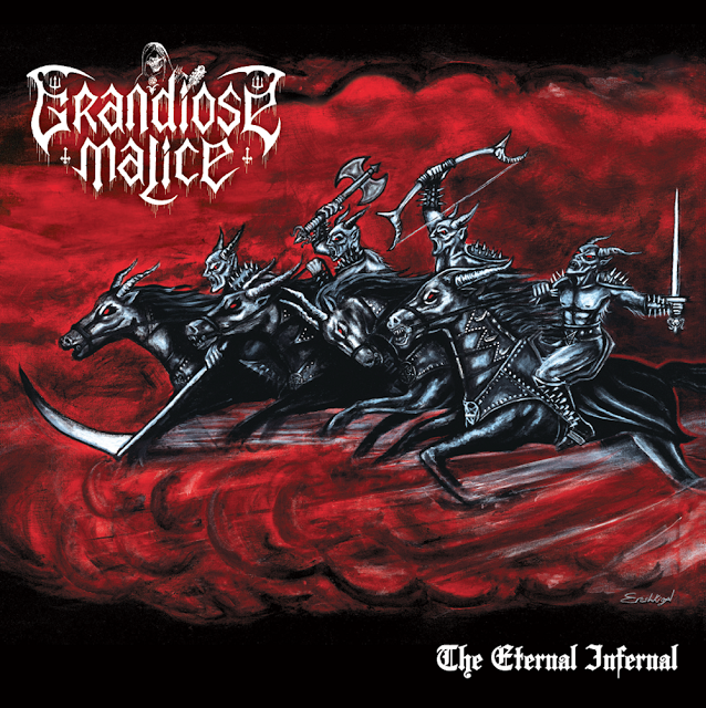 Tregenda - Grandiose Malice album details and first track reveal.