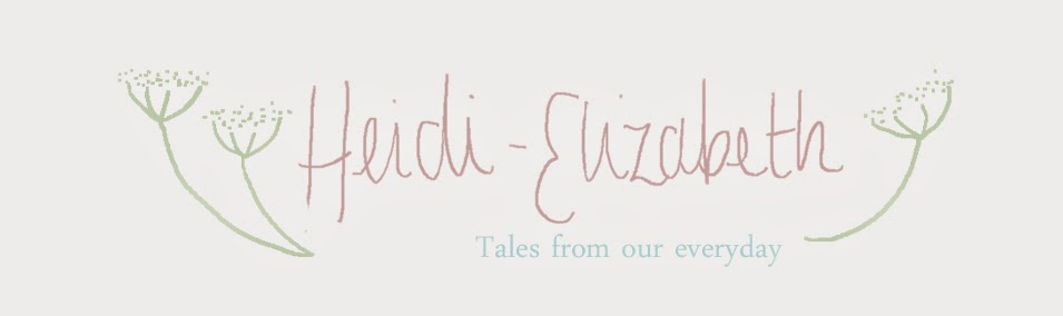 Heidi-Elizabeth - family blog from the UK
