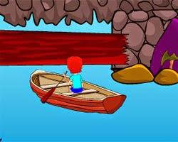 Juegos de Escape Boat Cave Escape