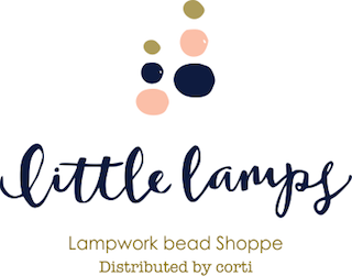 little lamps -glass bead-