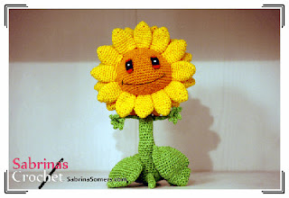 Crochet Plants Vs Zombies Patterns : ... Amigurumi Patterns: Free crochet pattern Sunflower (Plants vs Zombies