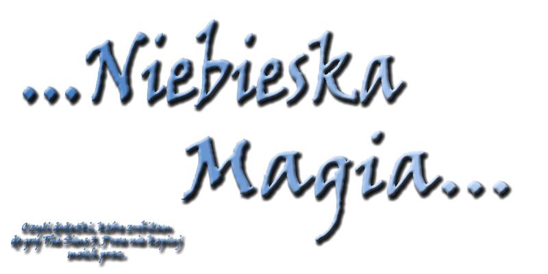 Niebieska Magia - moje The Sims 3