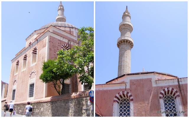 The Mosque of Süleyman in Rhodes