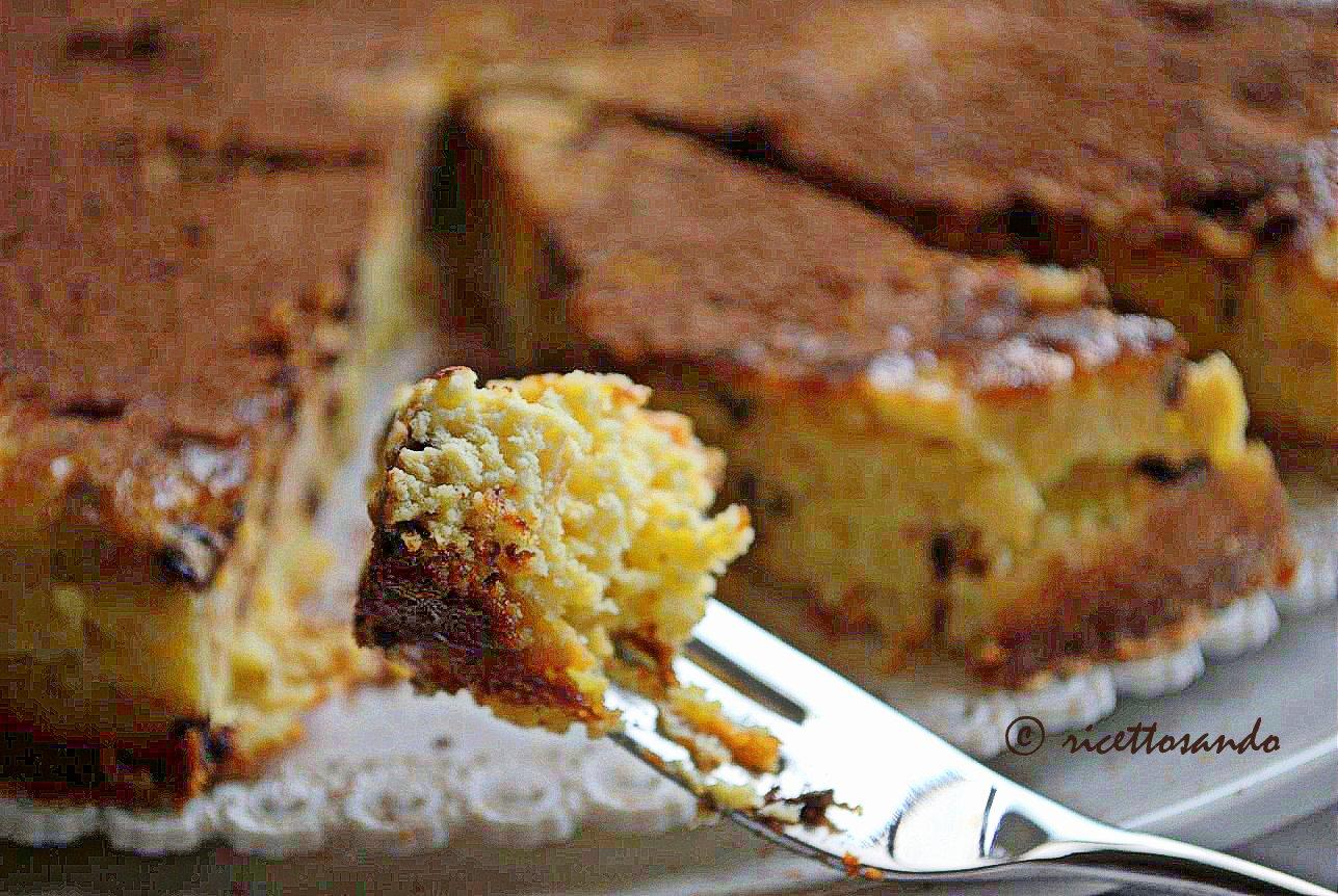 Pizza dolce di Toritto ricetta dolce di ricotta cotta a forno basso fino a doratura