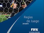 REGLAS DE JUEGO 2012 - 2013