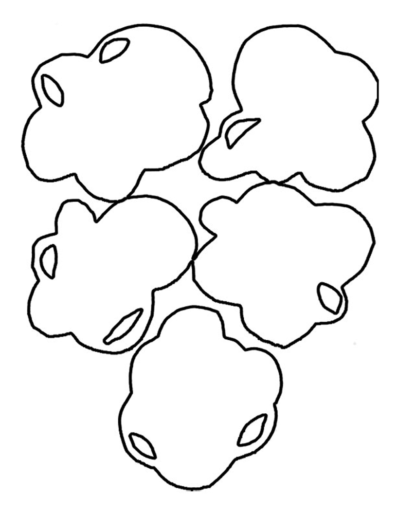 popcorn printable coloring pages - photo#22