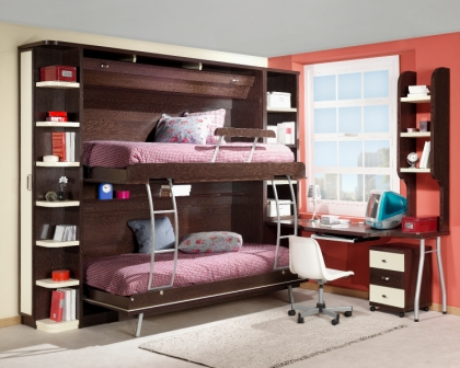 Camas abatibles en madrid camas abatibles toledo mueble for Camas dobles para ninos baratas