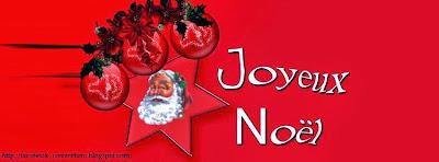 Couverture pour facebook originale joyeux noel