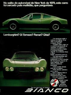 propaganda Bianco - 1978. propaganda anos 70. propaganda carros anos 70. reclame anos 70. Oswaldo Hernandez.