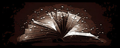 book with sparkles of magic rising from it's open pages - pathfinder