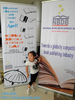 2011 World Book & Copyright Day @ UP TechnoHub 1
