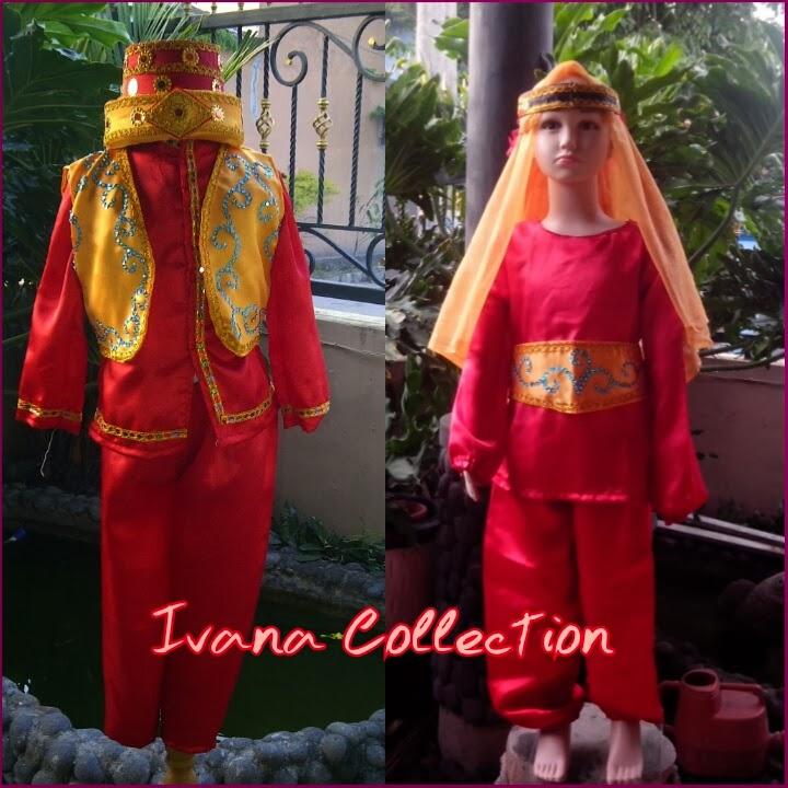 Baju Adat Timur Tengah Jual Baju Daerah Profesi Pesta