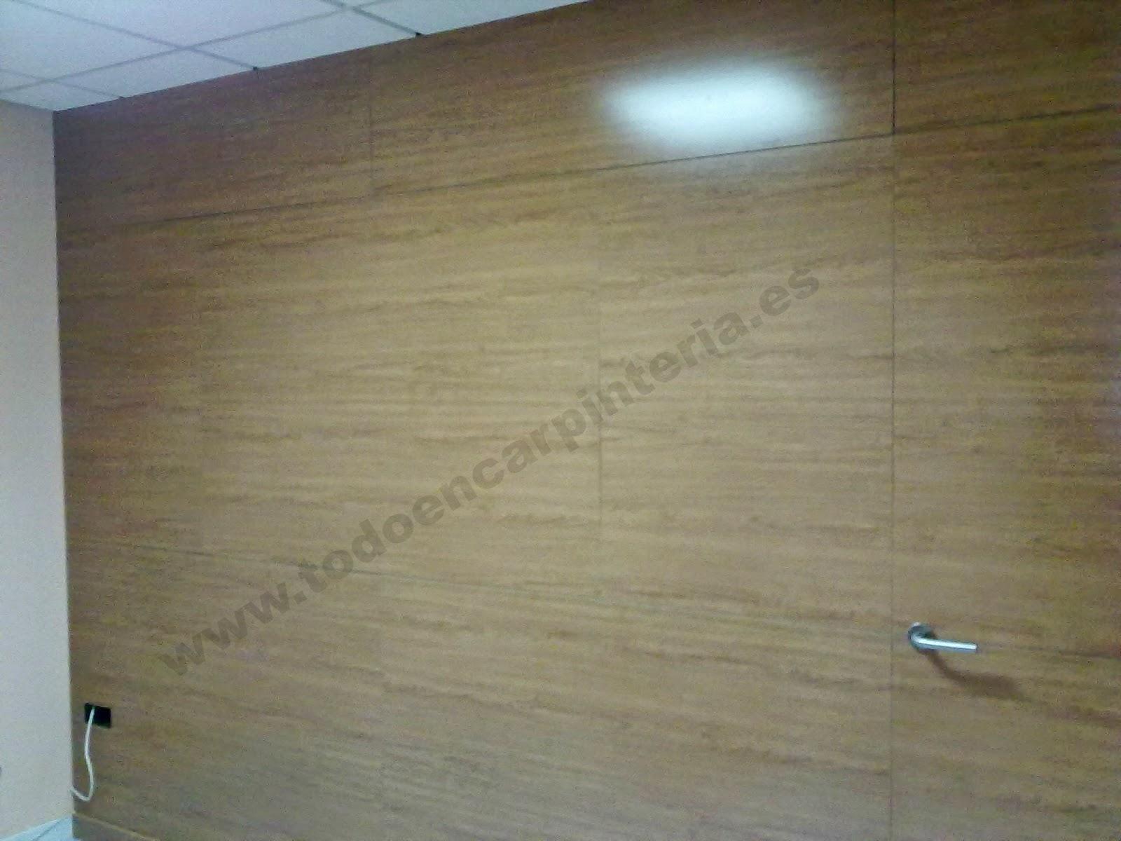 Como panelar una pared decoracin de estilo desenfadado - Como forrar una pared de madera ...