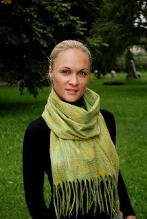 Валяные шарфы, валяние войлока, валяный шарф,