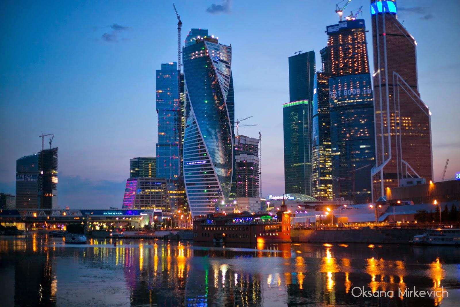 МоскваСити деловой центр недвижимость башни