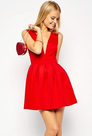 http://www.sheinside.com/Red-Sleeveless-V-Neck-Flared-Dress-p-190549-cat-1727.html