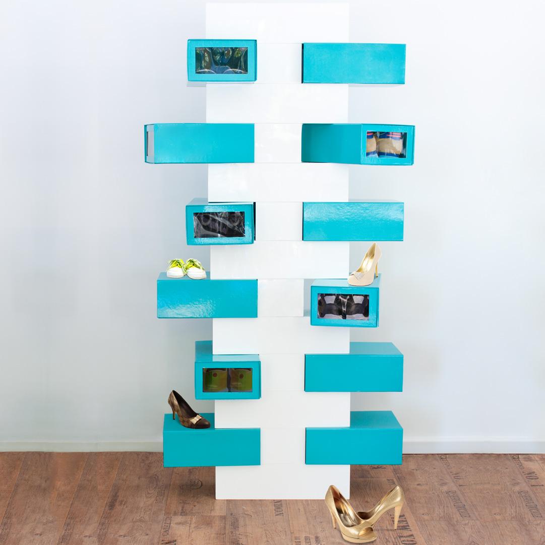 ruim je schoenen op met een schoenenrek huisvlijt. Black Bedroom Furniture Sets. Home Design Ideas
