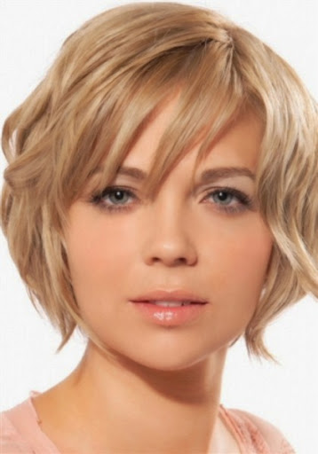 New short blonde hairstyles for women oval face 2015