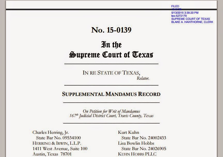 Tex.App.: Goodfriend v Travis County Clerk - Documents from Texas ...