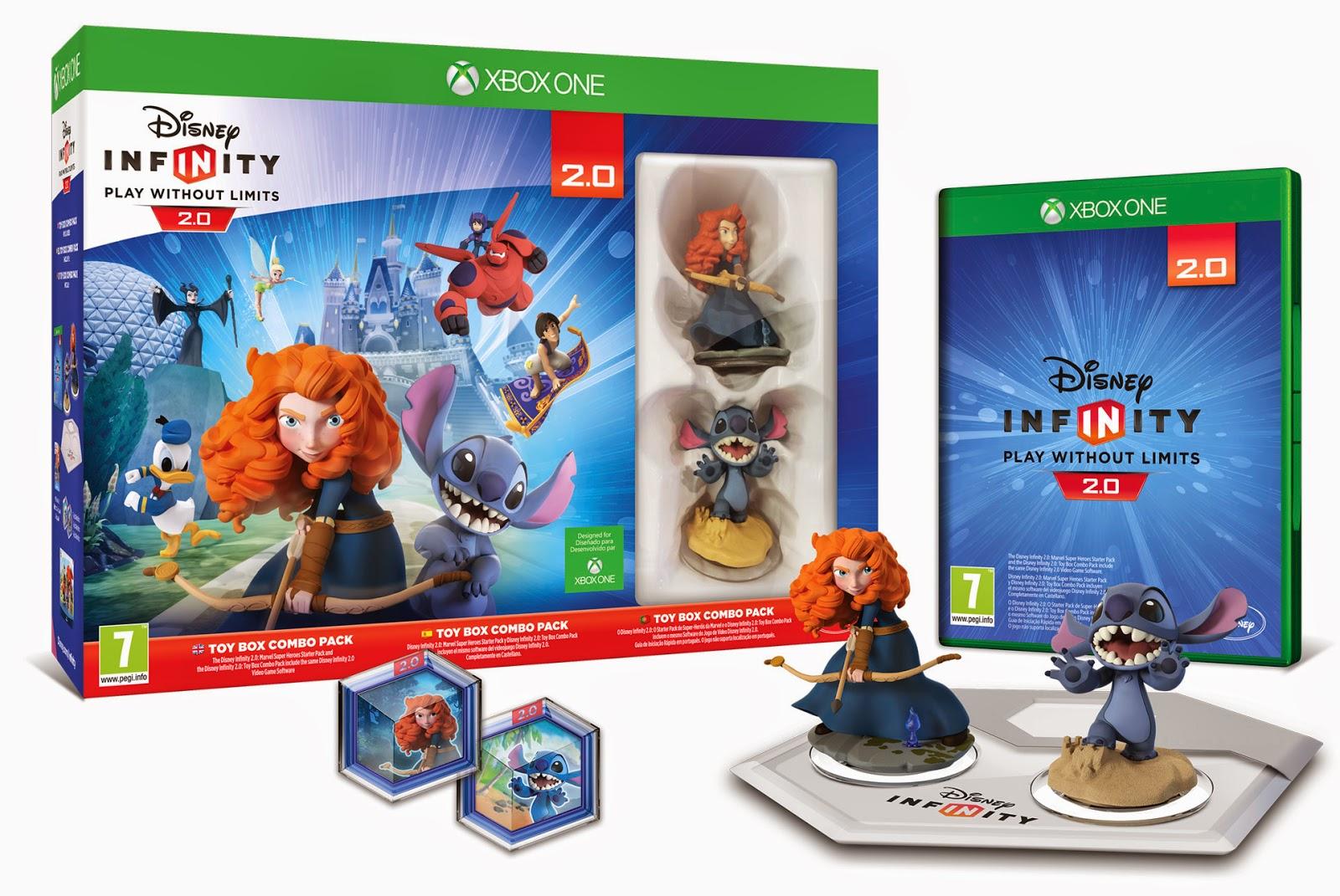 Disney Infinity 2.0: Toy Box Combo pack disponible el 7 de Noviembre 1
