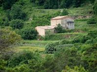Zoom a La Caseta des de La Devesa de Vilanova