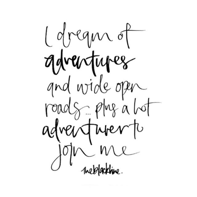 I dream of adventure...  [Starts with Cupcakes]
