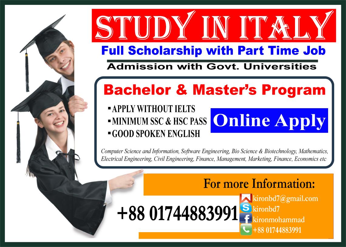 Italy student visa from bangladesh