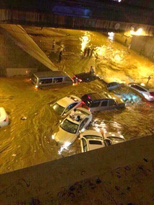 Banjir kilat di Makkah