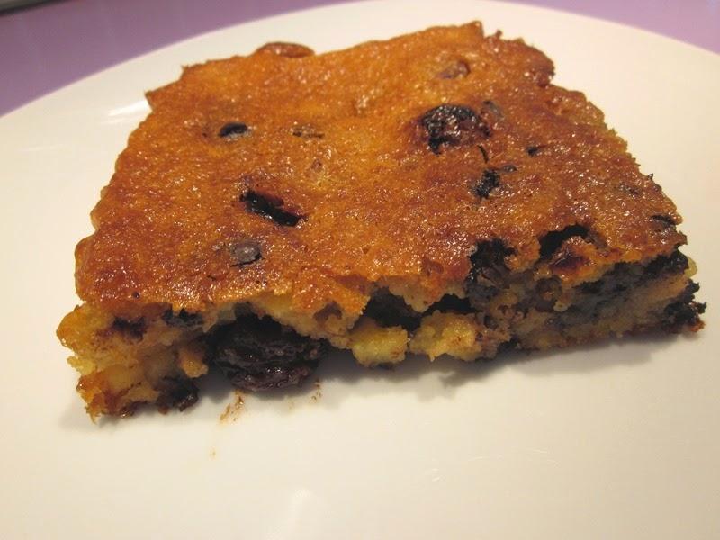 Brownie sans gluten pépites de chocolat et fruits secs