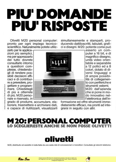 Olivetti M20 (1983)