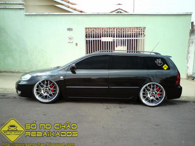 Toyota Fielder - Tuning Virtual | S No Cho Rebaixados