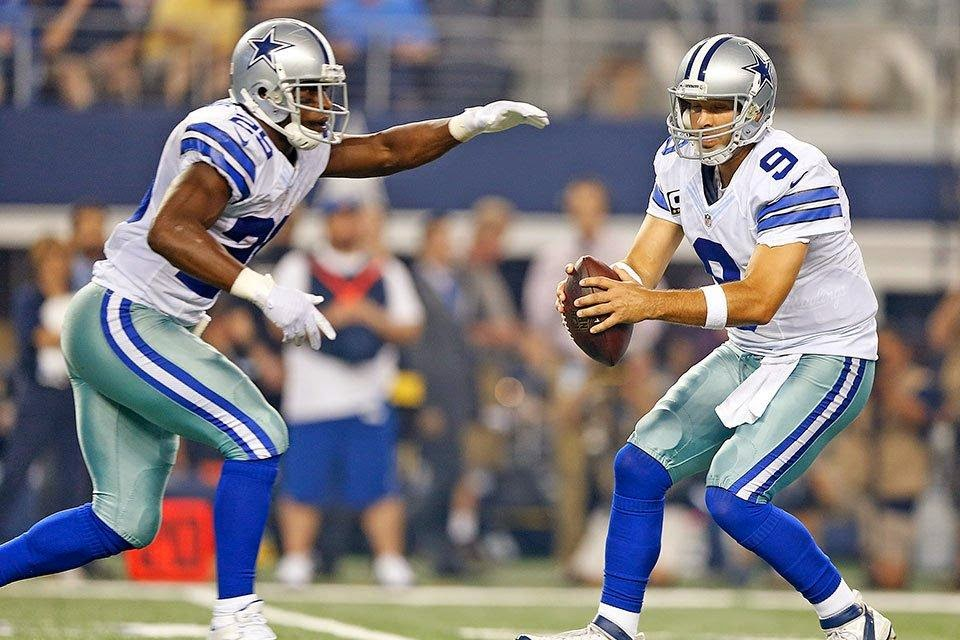 DeMarco Murray Tony Romo Dallas Cowboys