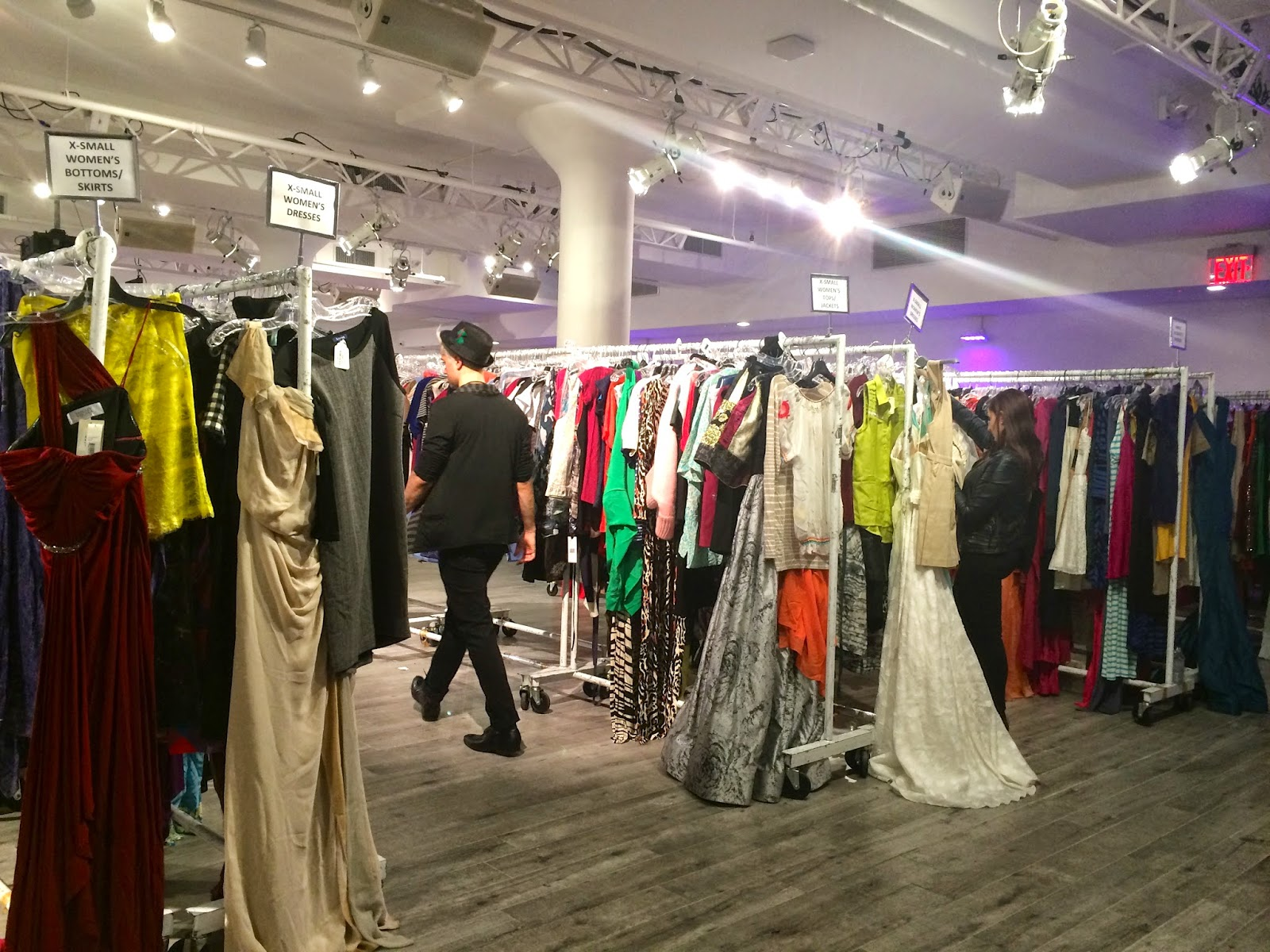 on friday april 24th i attended the anticipated gilt city warehouse sale held at metropolitan west at 639 west 46th street shoppers enjoyed 80 off - Bcbg Sample Sale