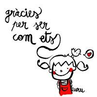 GRÀCIES PER VENIR !!!