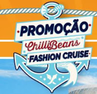 Promoção ChilliBeans Fashion Cruise www.promocaonavio.com.br
