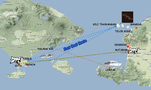 Como ir desde Bali a Gili Trawangan