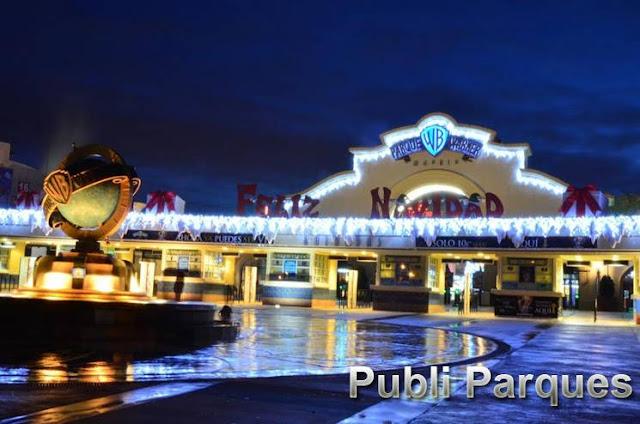 Navidad en Parque Warner Madrid 2015