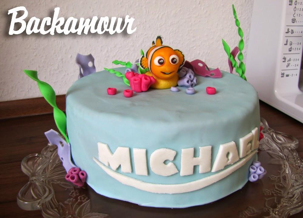 Foto auf torte befestigen