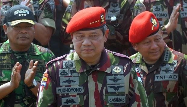 TNI Akan Beri SBY Gelar Jenderal Besar