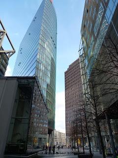 Potsdamer Platz, Hochhaus, Bahntower, Kollhoff-Tower