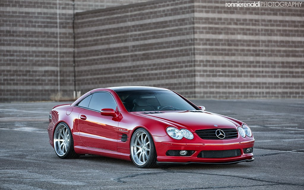mercedes benz sl55 amg on radenergie r10 benztuning. Black Bedroom Furniture Sets. Home Design Ideas