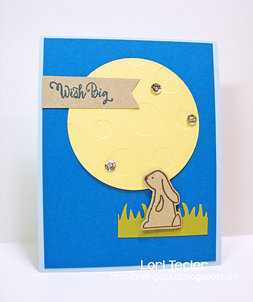 Wish Big card-designed by Lori Tecler/Inking Aloud-stamps from Avery Elle