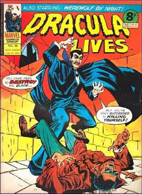 Marvel UK, Dracula Lives #36