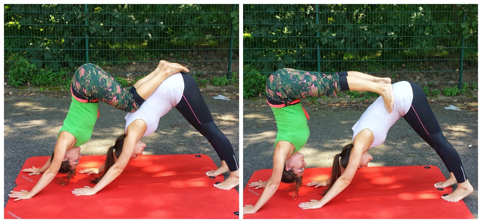 Beauties Lift Weights: Yoga Sessions & Acro Yoga