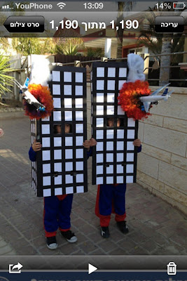 All Time Least Sensitive Purim Costume
