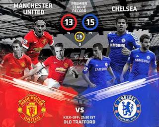 prediksi dan video chelsea vs Man.united, jose mourinho, juan matta, wayne rooney,louis van gaal, diego costa