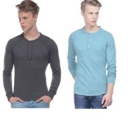 Fashionandyou : Buy Henleys T-shirt at FLAT 75% OFF + Extra 15% OFF -BuyToEarn
