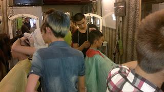 trường đào tạo nghề cắt tóc nam nữ, ép, uốn, nhuộm, gội, sấy, nối, trang điểm, bới tóc cô dâu, Korigami Hà Nội 0915804875