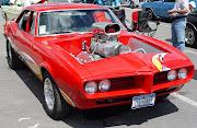 Red Blower of 1968 Pontiac Firebird (red blower of pontiac firebird)